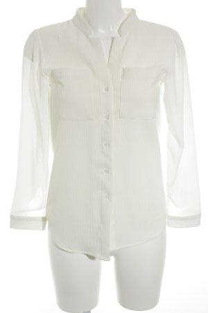 Oasap Langarm-Bluse creme Elegant