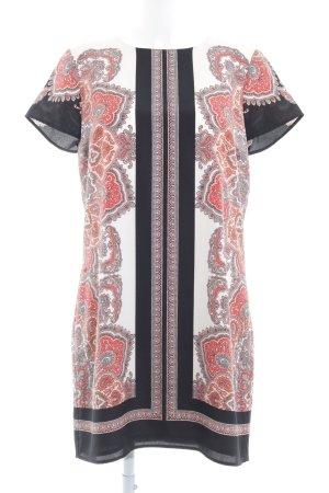 Oasis A-Linien Kleid abstraktes Muster Elegant