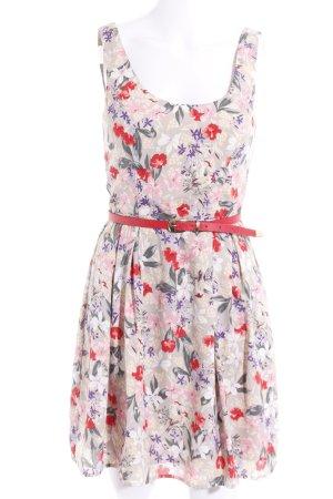 Oasis A-Linien Kleid florales Muster Casual-Look