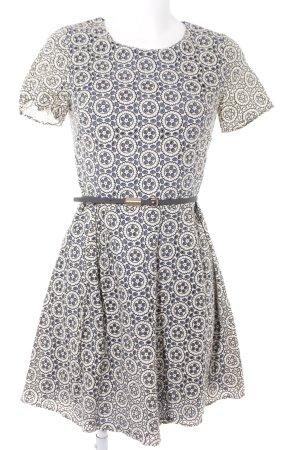 Oasis A-Linien Kleid Ornamentenmuster Casual-Look