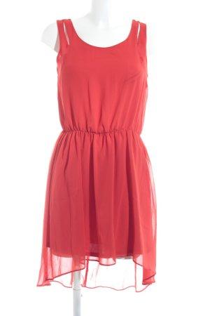 Oasis A-Linien Kleid rot Casual-Look
