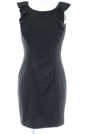 Oasis A-Linien Kleid schwarz Casual-Look