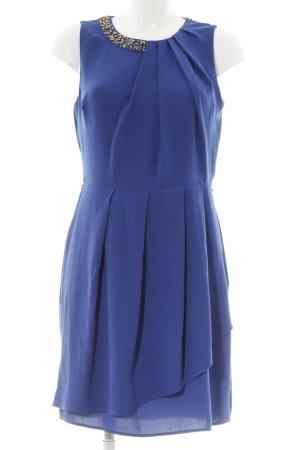 Oasis Abendkleid blau-goldfarben Elegant