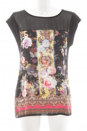 Oasis ärmellose Bluse florales Muster Boho-Look