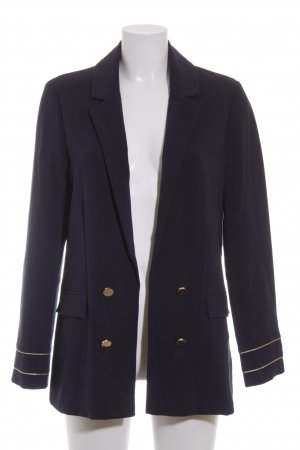 Oasis Blazer dunkelblau-goldfarben Business-Look