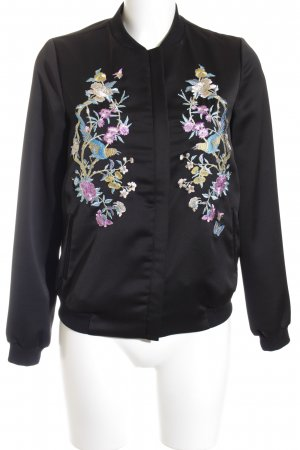 Oasis Blouson florales Muster Street-Fashion-Look