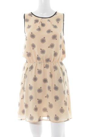 Oasis Blusenkleid nude Motivdruck Casual-Look