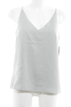 Oasis Blusentop silberfarben-blassblau Elegant