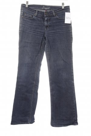 Oasis Boot Cut Jeans blau Casual-Look