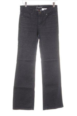 Oasis Boot Cut Jeans dunkelblau Casual-Look