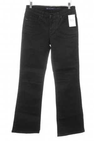 Oasis Boot Cut Jeans schwarz Casual-Look