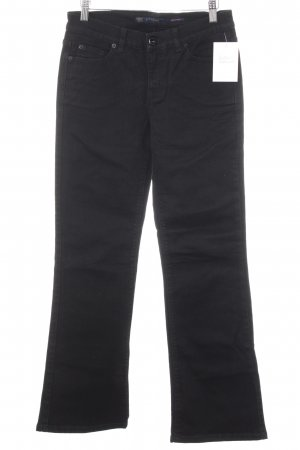 Oasis Boot Cut Jeans schwarz Casual-Look