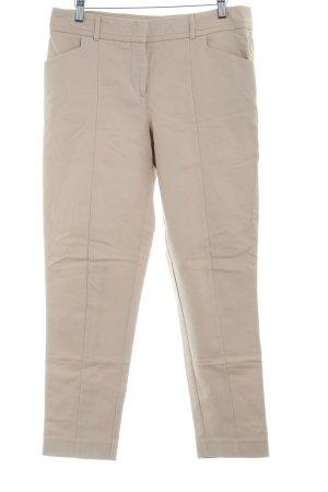 Oasis Pantalon à pinces beige style simple