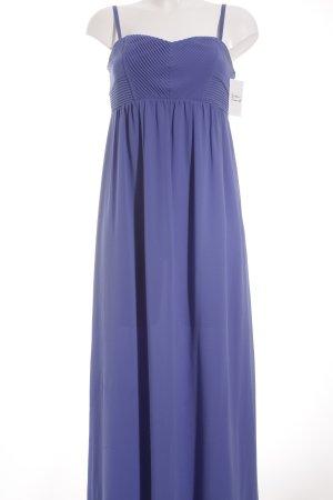 Oasis Vestido bustier azul cadete-azul aciano elegante