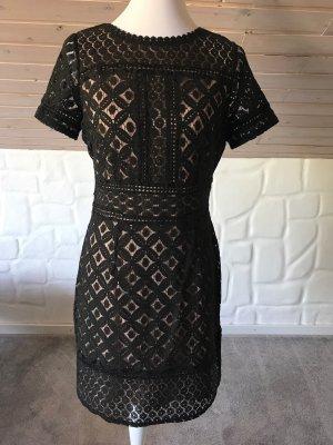 OASIS Cocktail Kleid Gr.36 schwarz