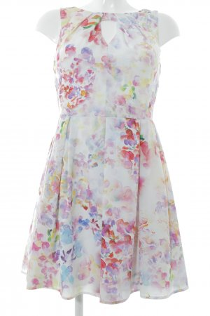 Oasis Cut-Out-Kleid Blumenmuster Romantik-Look