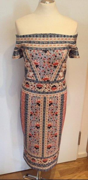 OASIS Figurbetontes Midi-Kleid Gr. M neu und ungetragen