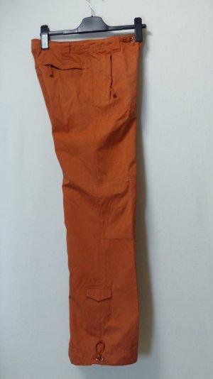 Oasis Sportbroek donker oranje Gemengd weefsel