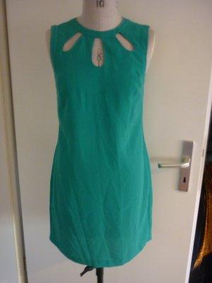 Oasis Grünes Kleid mit Cut outs