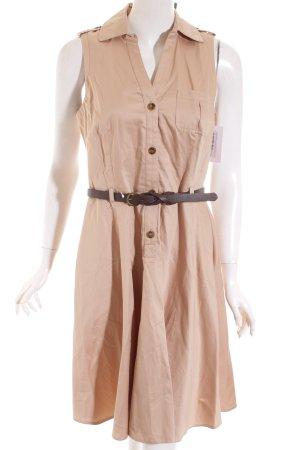 Oasis Hemdblusenkleid beige Safari-Look