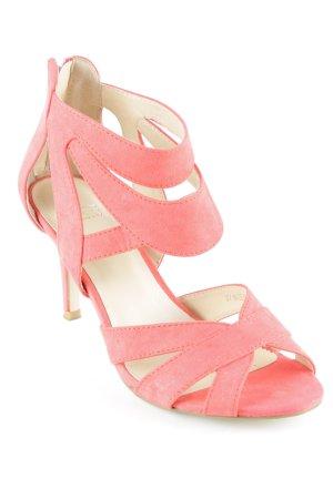 Oasis High Heel Sandaletten rot Elegant