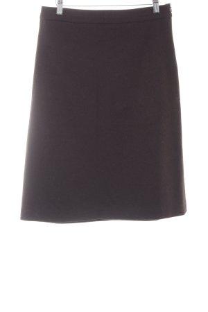 Oasis Jupe taille haute brun foncé style d'affaires