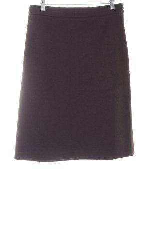Oasis Falda de talle alto marrón oscuro