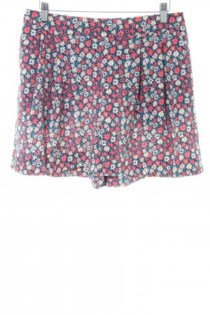 Oasis High-Waist-Shorts Allover-Druck Casual-Look