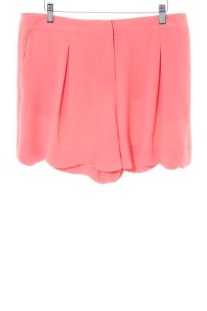 Oasis High-Waist-Shorts hellorange Elegant
