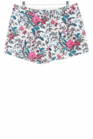 Oasis Hot Pants florales Muster Street-Fashion-Look