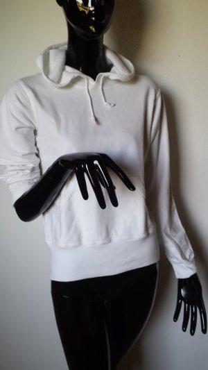 Oasis Chaqueta con capucha blanco Algodón