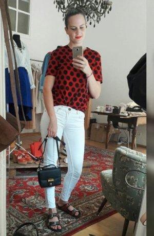 Oasis Jeans Skinny Slim Fit Röhre Weiß 8