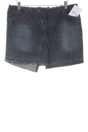Oasis Jeansrock blau Casual-Look