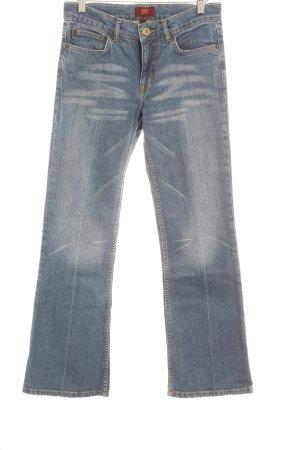 Oasis Jeans a zampa d'elefante blu scuro Stile anni '60
