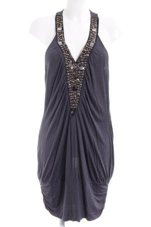 Oasis Jerseykleid dunkelgrau-schwarz Elegant