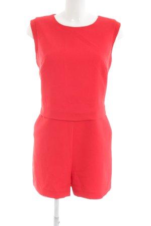 Oasis Jumpsuit rot Street-Fashion-Look
