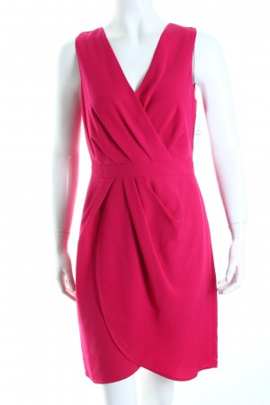 Oasis Kleid magenta Wickel-Look