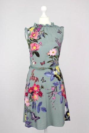 Oasis Kleid mehrfarbig Größe 34 1711230020322