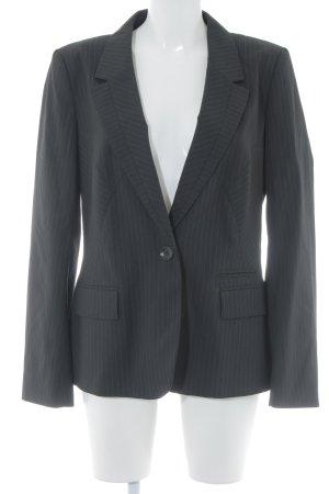 Oasis Kurz-Blazer schwarz-grau Nadelstreifen Business-Look