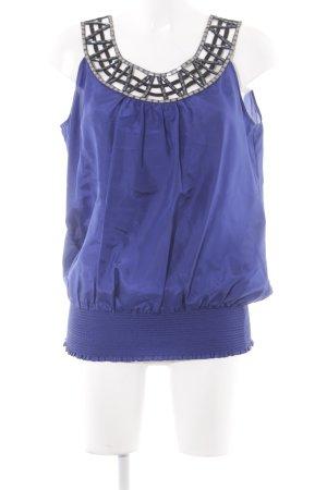 Oasis Kurzarm-Bluse mehrfarbig Elegant