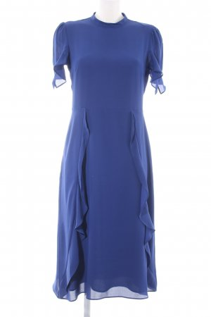 Oasis Kurzarmkleid blau Elegant