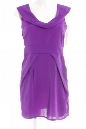 Oasis Kurzarmkleid dunkelviolett Elegant