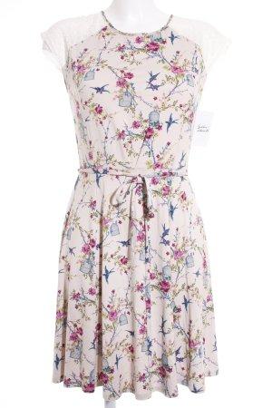 Oasis Kurzarmkleid florales Muster Romantik-Look