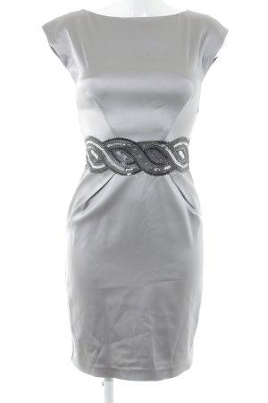 Oasis Kurzarmkleid graulila Elegant