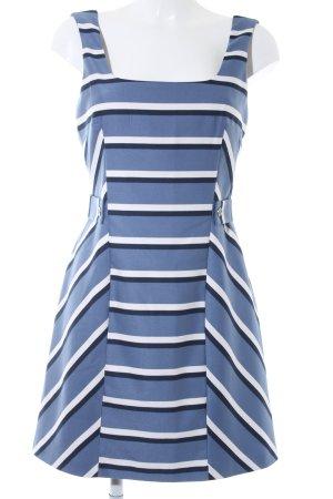 Oasis Kurzarmkleid Streifenmuster Elegant