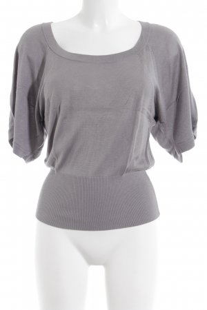 Oasis Short Sleeve Sweater grey casual look