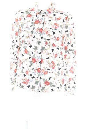 Oasis Langarm-Bluse Blumenmuster Casual-Look