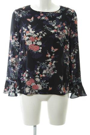 Oasis Langarm-Bluse florales Muster Casual-Look