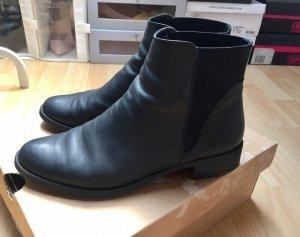 Oasis - Leder Chelsea Boots Gr. 38