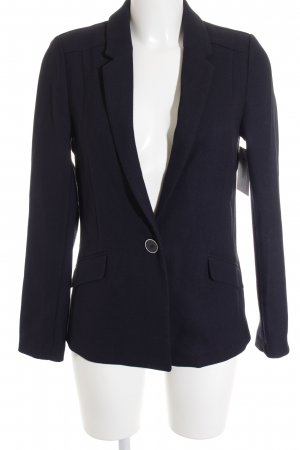 Oasis Long-Blazer dunkelblau Webmuster Business-Look